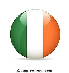 Flag of Ireland. Vector illustration.