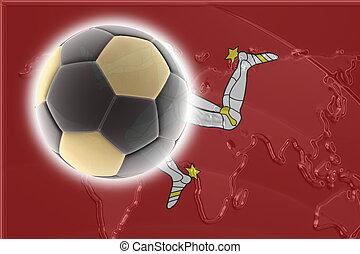 Flag of Isle of Man soccer