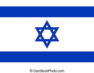 Flag of Israel.