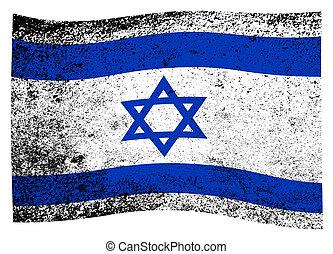 Flag of Israel Wave