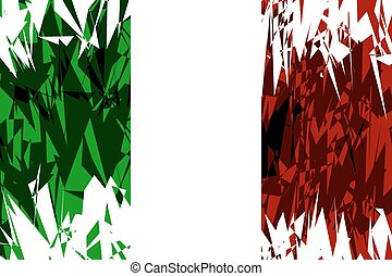 Flag of Italy.