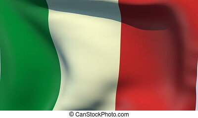 Flag of Italy - Flags of the world collection - Italy