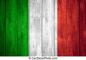 flag of Italy - Italy flag or white or red, green, white and...