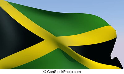 Flag of Jamaica - Flags of the world collection - Jamaica