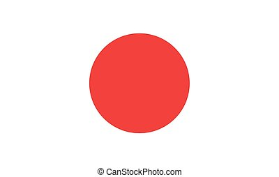 flag of japan (official proportion)