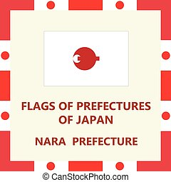 Flag of Japanese prefecture Nara