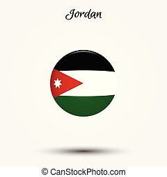 Flag of Jordan icon