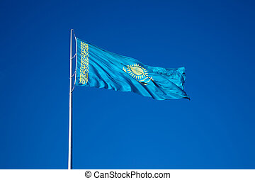 Flag of Kazakhstan Republic
