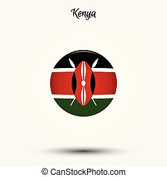 Flag of Kenya icon