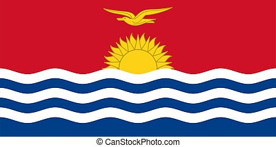 Flag of Kenya Vector illustration