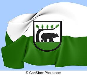Flag of Koscierzyna