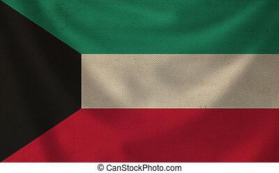 Flag of Kuwait.