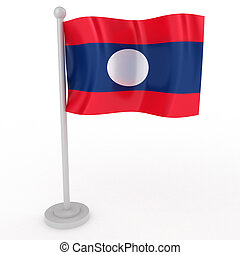 Flag of Laos
