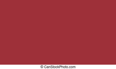 Flag of Latvia - Drawing Latvian Flag by Brush Strokes