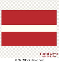 Flag of Latvia. Illustration. - Bright background with flag...