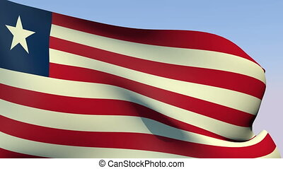 Flag of Liberia - Flags of the world collection - Liberia