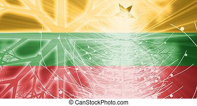 Flag of Lithuania christmas holidays - Flag of Lithuania, ...