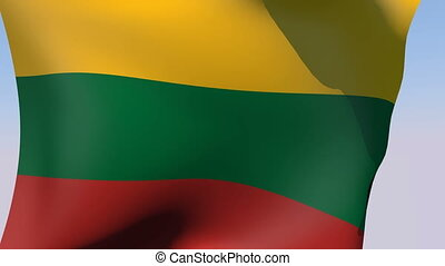 Flag of Lithuania - Flags of the world collection -...