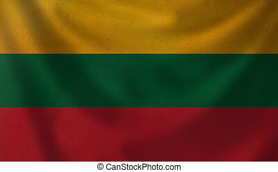 Flag of Lithuania.