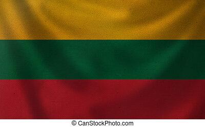 Flag of Lithuania.
