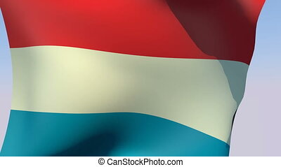 Flag of Luxembourg - Flags of the world collection -...