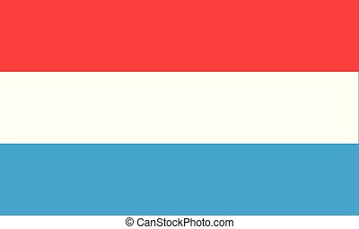 Flag of Luxembourg , National flag