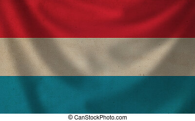 Flag of Luxembourg.