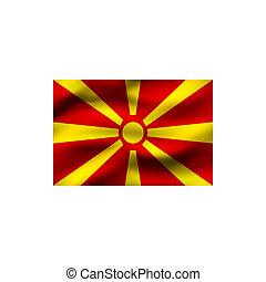Flag of Macedonia.