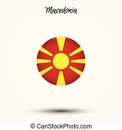 Flag of Macedonia icon