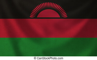 Flag of Malawi.