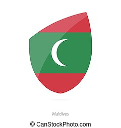 Flag of Maldives.