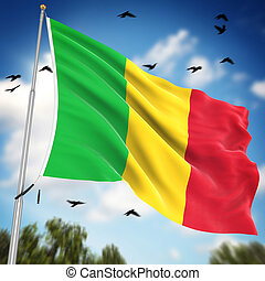 Flag of Mali