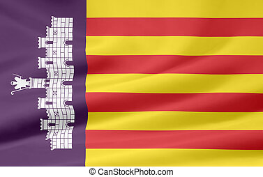 Flag of Mallorca