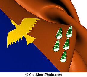 Flag of Manus Province