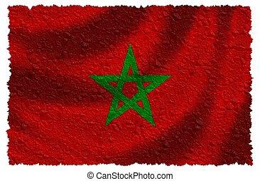 Flag of Marocco