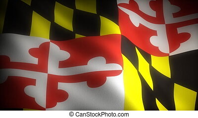 Flag of Maryland (seamless)