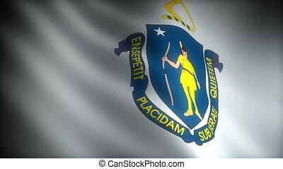 Flag of Massachusetts (seamless)