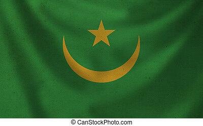 Flag of Mauritania.