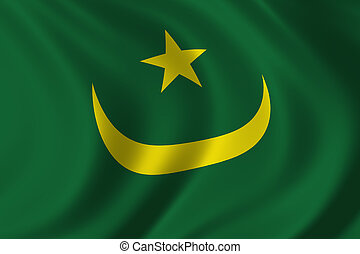 Flag of Mauritania