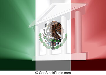 Flag of Mexico government - Flag of Mexico, national country...