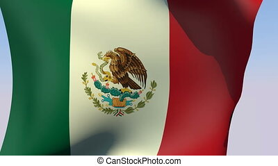 Flag of Mexico - Flags of the world collection - Mexico