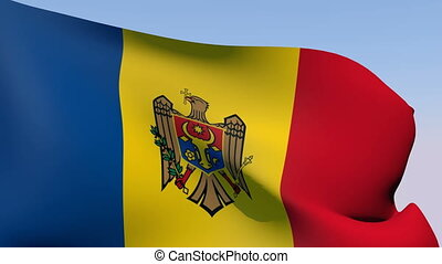 Flag of Moldova - Flags of the world collection - Moldova