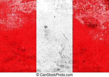 Flag of Mons, Belgium
