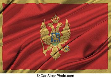 Flag of Montenegro.