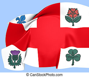 Flag of Montreal