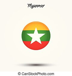 Flag of Myanmar icon