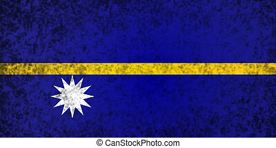Flag of Nauru.