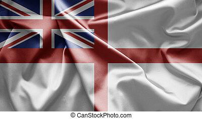 Flag of Naval ensign of UK