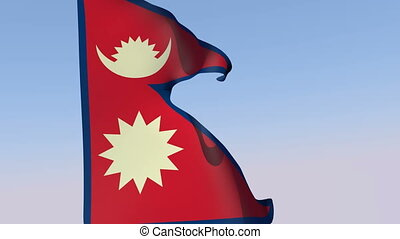 Flag of Nepal - Flags of the world collection - Nepal