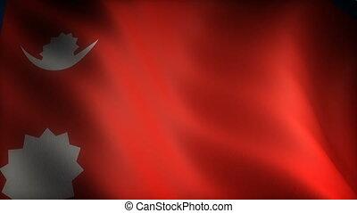 Flag of Nepal (seamless)